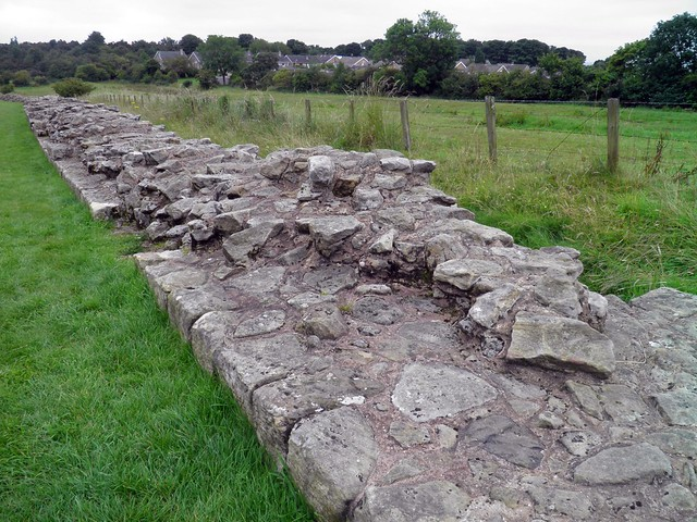 The broad wall at Heddon-on-the-Wall