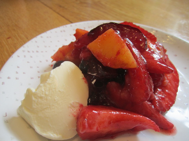 Summer Fruit Salad with Creme Fraiche | Flickr - Photo Sharing!