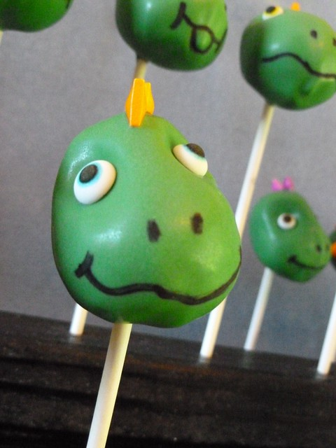 Dinosaur Cake Pop Flickr Photo Sharing