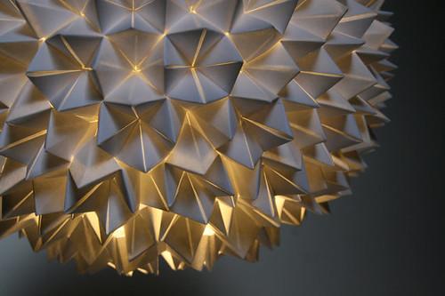 Folded Paper Lamp