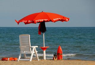 Obraz Spiaggia di Ca' Ballarin Plaża o długości 3807 m. summer beach meer mare estate sommer cavallino