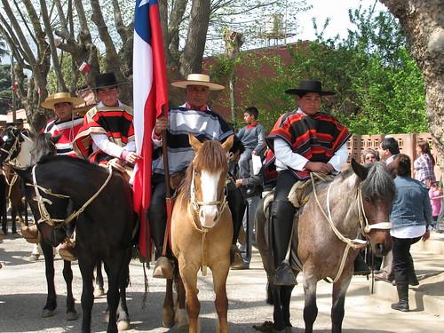 Desfile del 18 de septiembre en Olmué