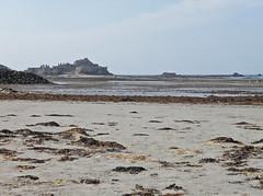Elizabeth Castle and St Aubin's Bay