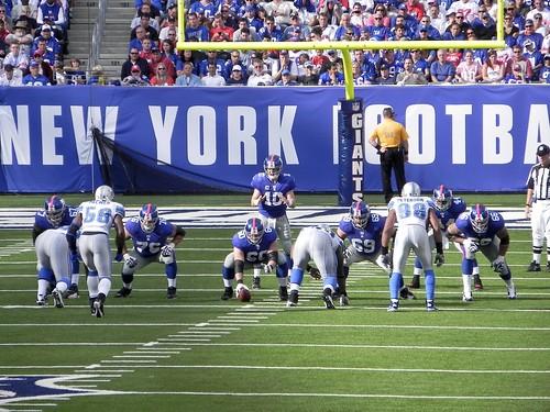 New York Giants vs. Detroit Lions 10.17.10