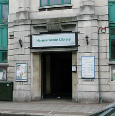 Harrow Green Library - now axed