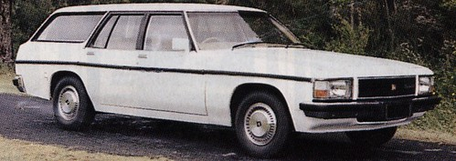 Prototype WB Series Holden Station Wagon