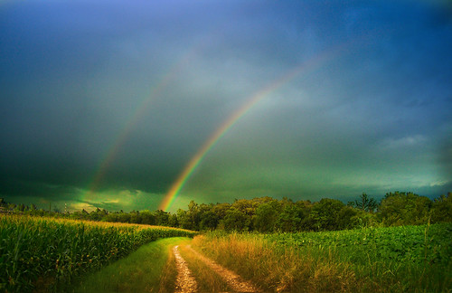 italy storm nature rain weather countryside rainbow italia day path country countryroad friuli friul moruzzo