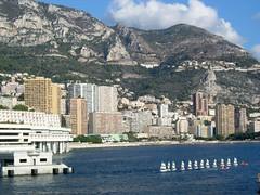 Monaco Larvotto Mont Gros  & sailboats
