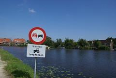 Inhalen verboden