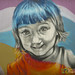 Young Girl - Street Art in Berlin, Germany