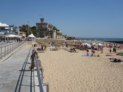 One of the beaches of Estoril