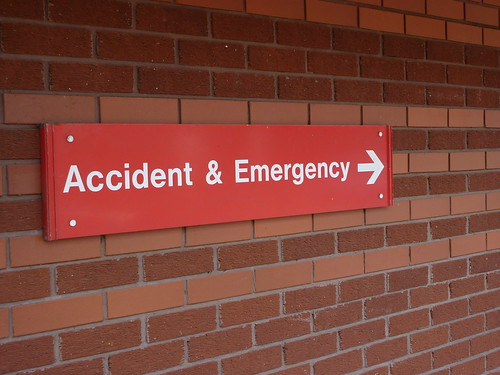 Accident & Emergency Sign