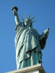 Copie de la statue de la Liberté