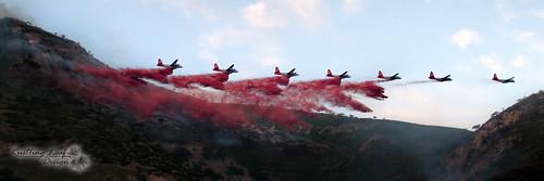 sunset red orange canon landscape fire utah wasatch desert bomber firefight greatbasin wasatchrange redbuttegarden redbuttefire