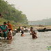 Kids Swimming and Bathing to River - Bandarban, Bangladesh