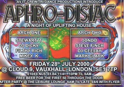 Aphrodisiac 28-07-00 Front