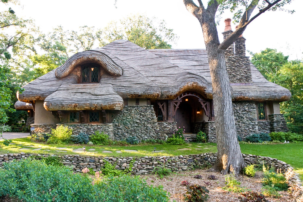 Real Life Hobbit House Image Via Dan Price With Real Life