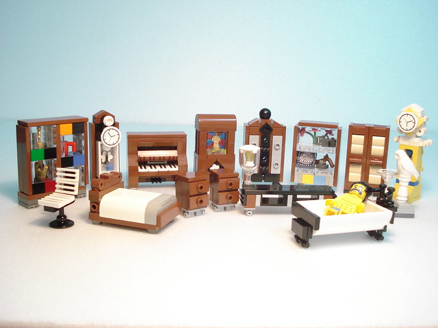 Lego Furniture A Gallery On Flickr