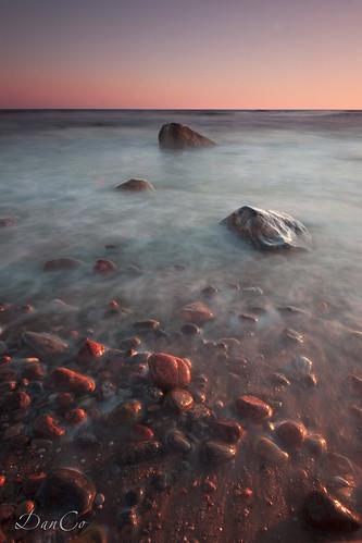 sunset sea stones baltic lithuania lietuva sigma1020mmf456exdchsm karkle canoneos50d mygearandme cokinp121mfilter cokinflwfilter