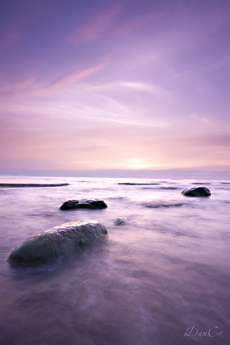 pink sunset sea twilight stones baltic lithuania lietuva sigma1020mmf456exdchsm karkle canoneos50d mygearandme blinkagain bestofblinkwinners cokinp121mfilter cokinflwfilter