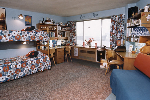Triple Room, Chadbourne Hall, 1970s
