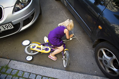 Lulus First Bike Accident