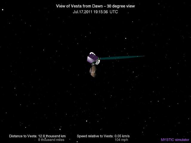 Vesta Asteroid Orbit Map - Pics about space