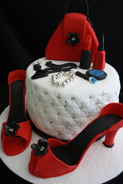 Makeup Cake 1 A Gallery On Flickr