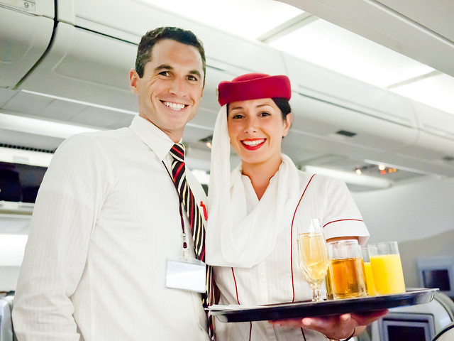 Emirates Flight Attendants