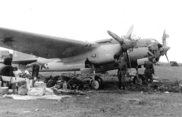 SB bomber, captured