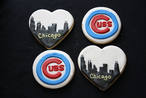 Chicago Wedding Cookies