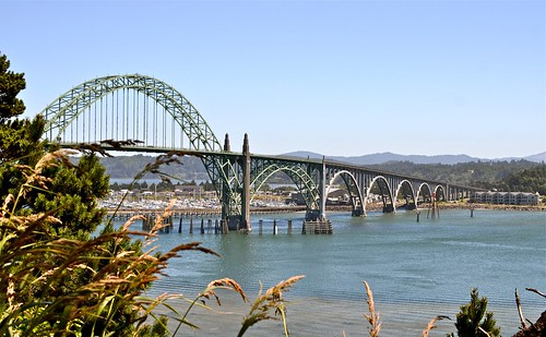 Art Deco Bridge On The Oregon Coast