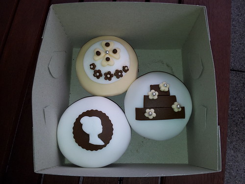 Svatebni cupcakes