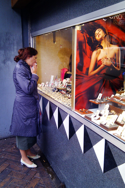 Photograph: Untitled Candid Street Portrait #14; Newport, Wales, July 2011. By Simon Holliday.