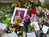 Amy Winehouse Floral Shrine