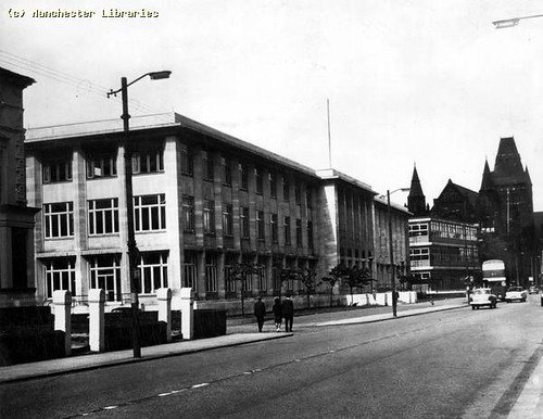 Victoria University, Student Union, Manchester, 1970