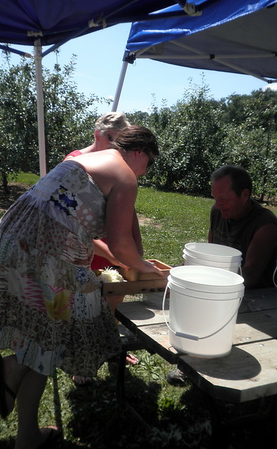 Kraut Day at Lapacek's Orchard