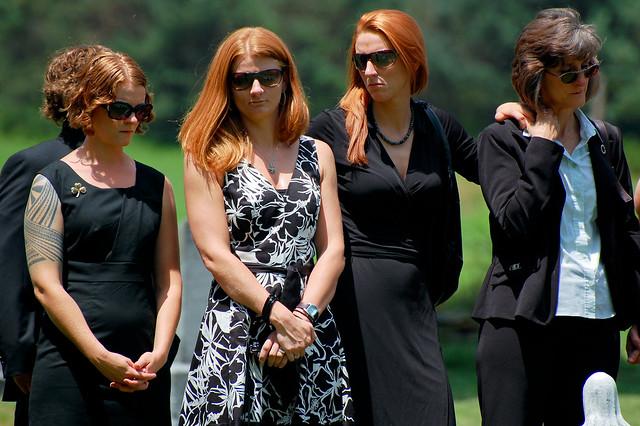 Grandma Hoffman's Funeral