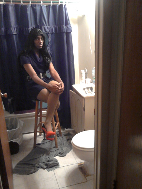 Ebony Crossdressers 105
