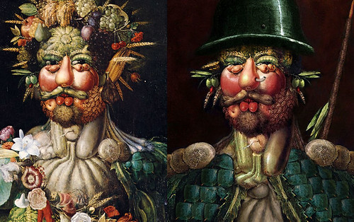 Arcimboldo Before and After