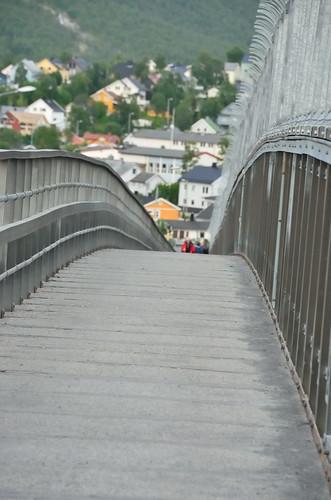 Halfway through the bridge