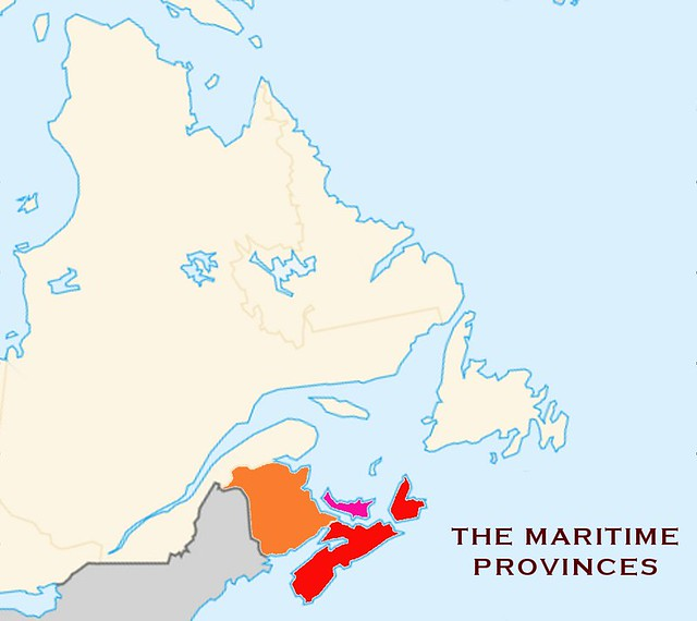 Header of Maritime Provinces