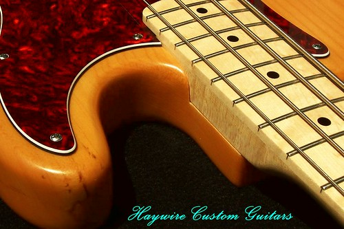 Haywire Custom Guitars P Bass2