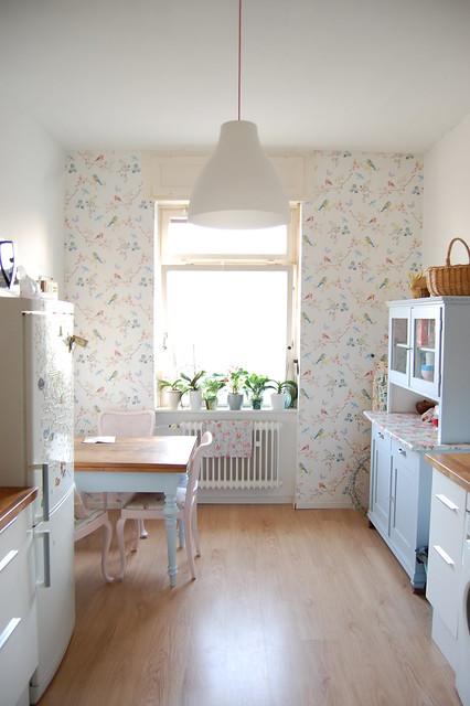 Vintage Kitchen Wallpaper Designs