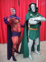 Anime Expo 2011 - Magneto and Dr Doom