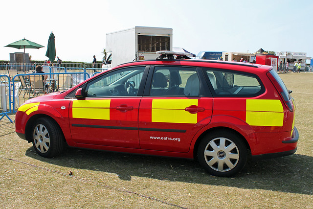 Esfrs Vehicle 999 Emergency Services Display Eastbourne 20