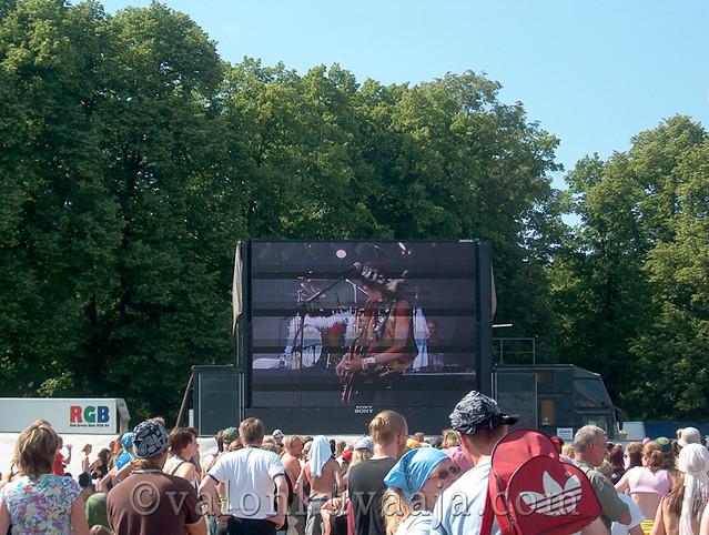Ruisrock 2005 sunnuntai - Hanoi Rocks