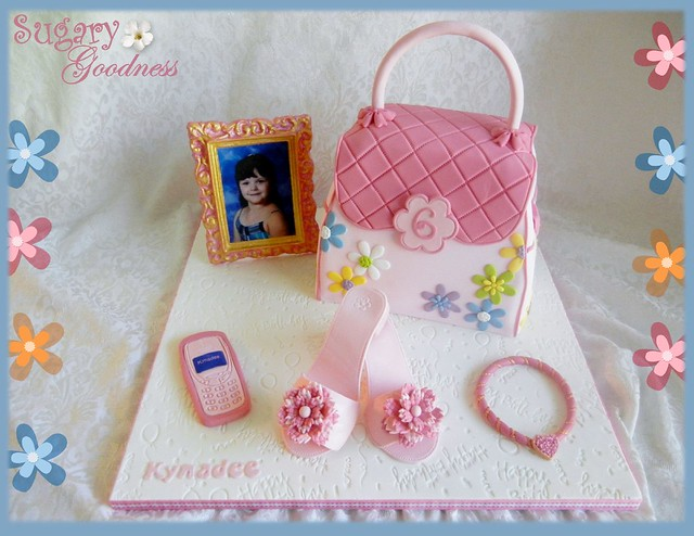 Little Girl Pink Purse and Accessories