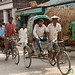 Bicycle Rickshaws on Streets of Srimongal, Bangladesh