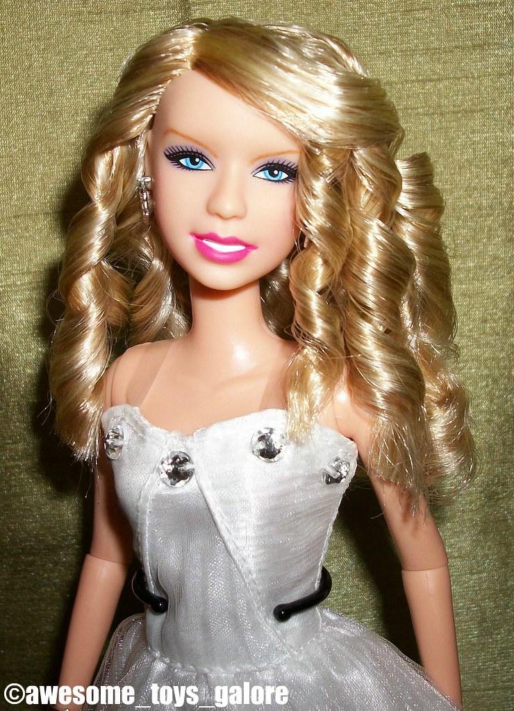 Ooak Taylor Swift Doll Sold I Repainted Her Eyebrows Teet Flickr